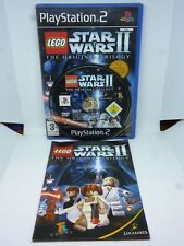 Sony Playstation 2 ps2 lego Star wars 2 The Original Trilogy Starwars gaming