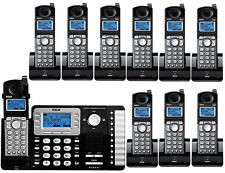 10 Set RCA Business Phone Telephone 2-Line 25252 + 9 25055RE1 Cordless Handsets