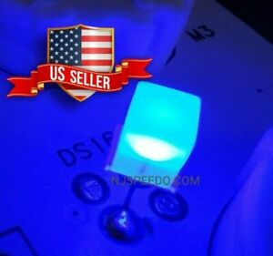 20ct 12V 14V Blue 5mm LED's with Resistor for Chevy GM Gauge Cluster Speedometer