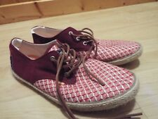 Mens Superdry canvas shoes casual holidays Size UK 12 Europe 46 US 13
