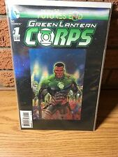 GREEN LANTERN #1 FUTURES END 3D COVER NEW 52