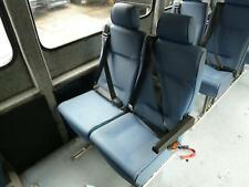 FIAT DUCATO / PARTNER / BOXER  2ND ROW REAR DOUBLE SEAT WITH BELTS BLUE (02-06)