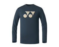 YONEX 20 F/W Men's T-Shirts Badminton Apparel Clothing Khaki Racquet 209TL003M