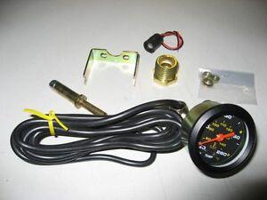 """06-Universal Auto Gauge Water Temper. gauge 50mm Mechanical Gauge 2"""" mini gauge"""