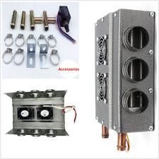 Portable Heaters Double Side Compact Heat Fan Under Dash Speed Switch Truck Car
