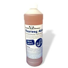 (13,99 €/L) PANDACLEANER® 1.000ml Haar-weg Abflussfrei Rohrreiniger Verstopfung