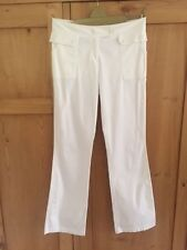 M&S white jeans/trousers. Size 12 long. Worn once