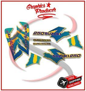 Suzuki LT250R Quadracer Decals Stickers Graphics Kit 85-92 Model Premium Vinyl