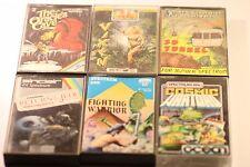Paquete De Juegos Raros Sinclair Spectrum 48k (seis juegos en este trabajo Lote) en caja década de 1980