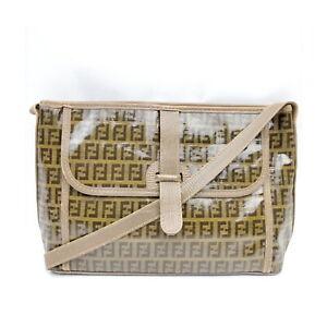 Fendi Shoulder Bag  Beiges PVC 1529030