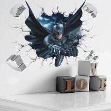 3D Cool Batman Wall Sticker Kids Room Home Decor Vinyl Art Decal Poster Mural
