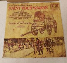 SONGS FROM THE FABULOUS MUSICAL PAINT YOUR WAGON  LP ~ VINYL EX ~ MFP1390