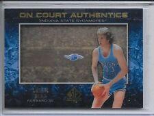 2013-14 SP Authentic Larry Bird On Court Authentics Card # OCA-LB