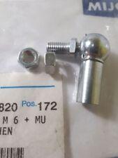 Eisenmann 10070038 Winkelgelenk AS 10, M6 + MU MIT Schluesselflaechen