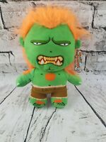 BNWT CAPCOM STREET FIGHTER BLANKA PLUSH - PLUSH SOFT TOY 9-10""
