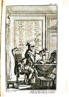 ERASME, L'ÉLOGE DE LA FOLIE, gravures de Eisen, 1757