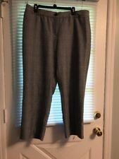 Avenue Womens Dress Pants Size 16 Petite Slacks See Pics For Color And Stripes