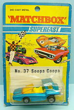 MATCHBOX LESNEY / SUPERFAST / EXPORT ISSUE / N°37 SOOPA COOPA 1/64