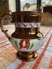 Vintage Copper Lustre Ware Fine Bone China Staffordshire