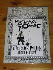 MY CHEMICAL ROMANCE - The Black Parade -  Laminated Promo Store Poster