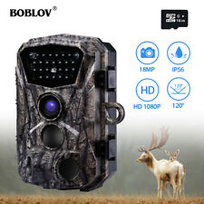 "BOBLOV 16GB Hunting Camera 18MP 2.4"" LCD IP56 Photo Traps Trail Camera With Belt"