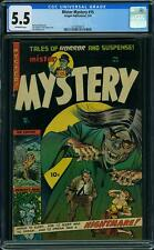 Mister Mystery 15 CGC 5.5 BEST TO HIT MARKET! Baily Zombie Puppeteer #1473053013
