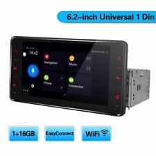JOYING Single Din In Dash Car Stereo 1+16GB Mit Abnehmbare Frontplatte Bluetooth