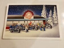 HARLEY DAVIDSON CHRISTMAS CARDS #X429 HANGING OUT AT THE POLAR HOUSE (100 PK)
