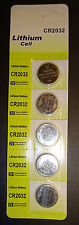 Lithium Cell CR2032 3V Coin Cell Lot of 25