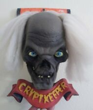 NOS Vtg Tales From The Crypt Cryptkeeper Wall Mount Bust Halloween Prop 1997