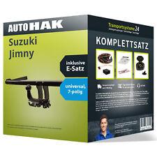 Anhängerkupplung abnehmbar SUZUKI Jimny +Elektrosatz Set kpl. NEU inkl. EBA