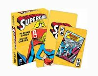 DC Comics Retro 'SUPERGIRL' Playing Cards Licensed Product Brand New