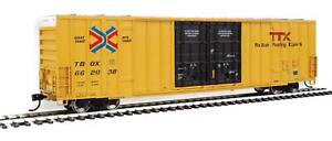 Walthers HO Scale 60' High-Cube Boxcar TTX/TBOX #662038 (Red/Next Load Any Road)