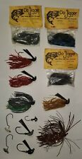 Fishing Lure Lot, Jigs, Mostly New Never Used