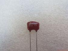2 condensateurs Silver Mica 1200pF 100V 5% Arco