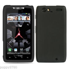 SILICONE Skin Soft Gel Case Phone Cover For Motorola DROID RAZR MAXX Black