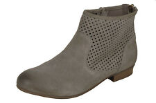 Ladies' Ankle Boot Remonte R4871 Beige EU Size 39 (UK Size 6)