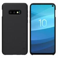 Genuine Nillkin Frosted Shield Black Hard Case Cover for Samsung Galaxy S10e