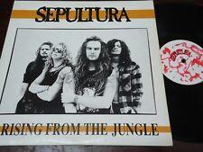 "SEPULTURA - Arising From The Jungle, LP 12"" BRAZIL 1991"