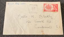 1953 Coronation Of Qeii 3 1/2d Australian Fdc Melbourne