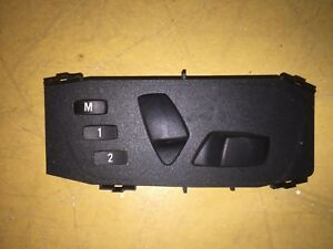 BMW 120 130 320 325 330 X1 Z4 DRIVER R/H ELECTRIC SEAT ADJUSTER SWITCH BUTTONS