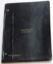 Amadeus * 1981 Original Broadway Play Script * USED BY CAST MEMBER, Russell Gold