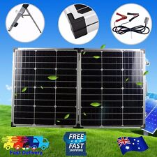 180W Solar Panel Folding Kit 12V Battery Charger Power Mono Boat Camping AU