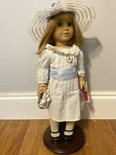 Nellie O'malley American Girl Doll (WITH STAND, OUTFITS AND BOOK) Slightly Used