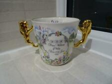 Paragon Loving Cup 1982 Birth Of Prince William - Gilded Lion Handles