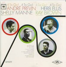 ANDRE PREVIN  RAY BROWN SHELLY MANNE HERB ELLIS   CD  4 TO GO !