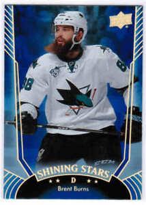 16/17 UD SERIES 1 HOCKEY SHINING STARS BLUE CARDS (SS1-SS50) U-Pick From List