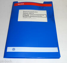 Werkstatthandbuch VW Passat B5 Synchro Allrad 6-Gang Schalt Getriebe 01E ab 97
