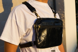 Leather Chest Rig Pouch