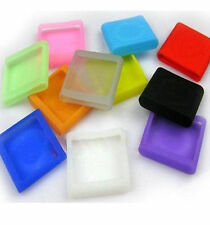 5pcs Silicone Silicon Skin Soft Cover Cases for iPod Shuffle 4th Gen 4 G4